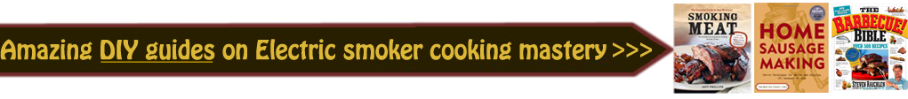 smoker cookbook
