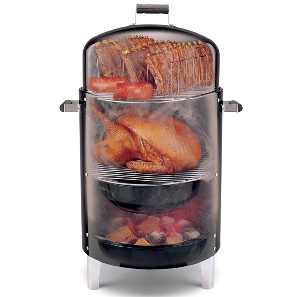 Brinkmann 810 gourmet red electric smoker cover review for Smoking fish electric smoker