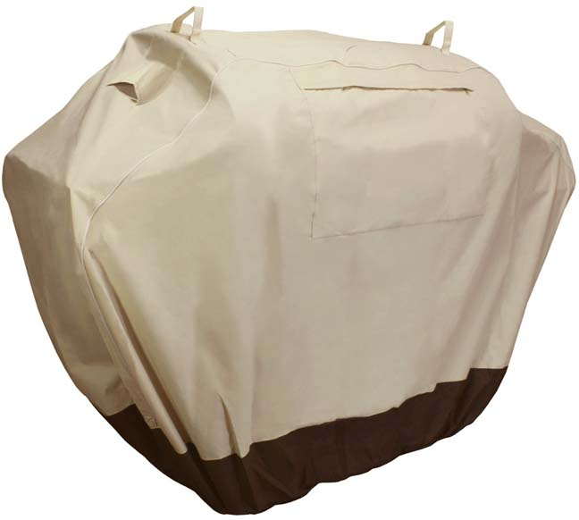 Awesome KHOMO Waterproof Heavy Duty BBQ Grill Cover