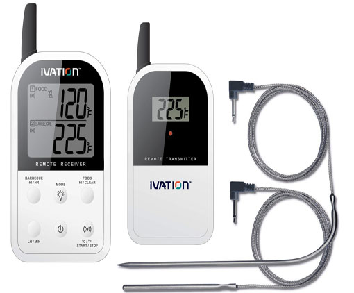 ivation long range wireless thermometer