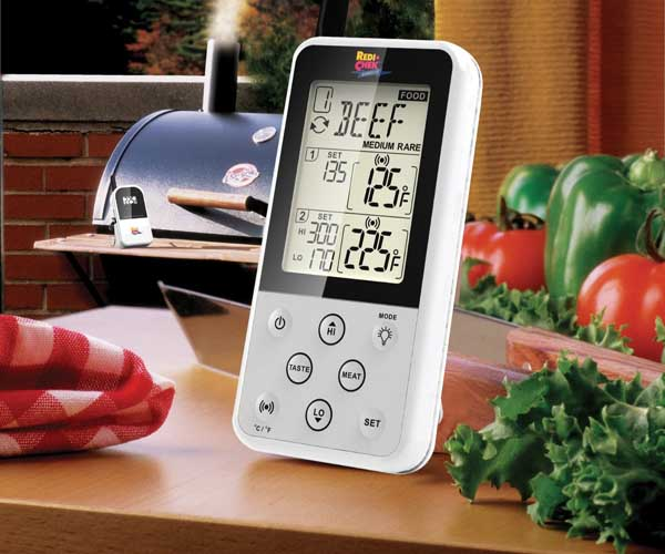 maverick remote smoker meat thermometer