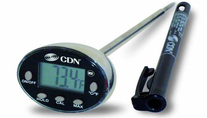 CDN Digital Cooking Thermometer | Fish , BBQ