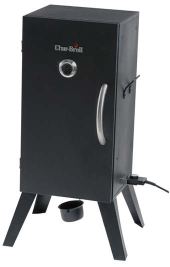 char broil vertical electric smoker
