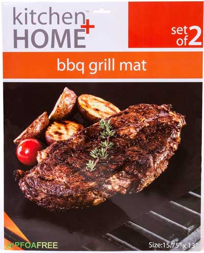 Kitchen plus Home BBQ Grill Mats