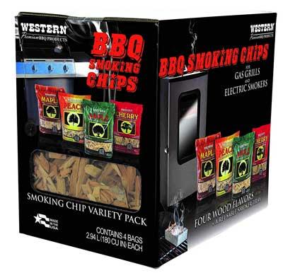 WESTERN Prime Wood BBQ Smoking Chips
