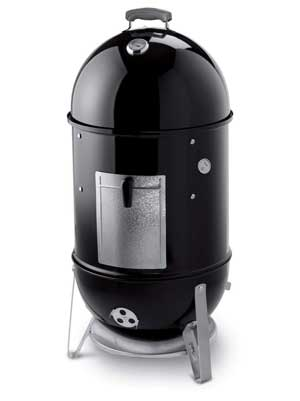 Weber Smokey Mountain Cooker 18-Inch Charcoal Smoker